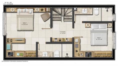 apartamento 401 - pavimento superior
