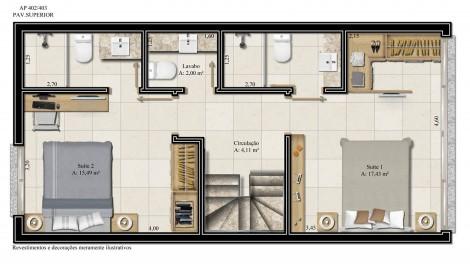 apartamento 402 - pavimento superior
